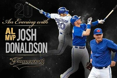 An Evening with Josh Donaldson - April 7th 2016