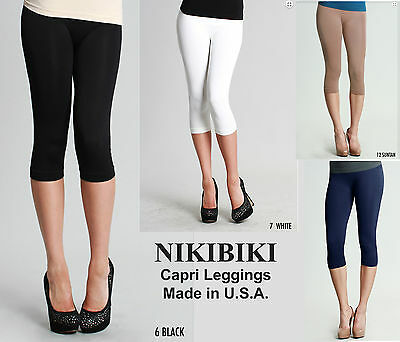 4612bb41623765 NIKIBIKI WOMENS LEGGINGS Vintage Moto Soft Jeggings One Size Juniors ...