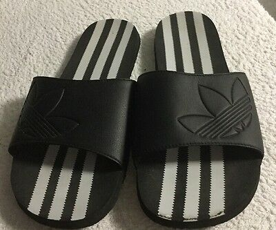 Adidas, Size Uk 10, Men's, Slippers, Beach Shoes