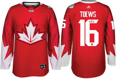 Jonathan Toews - Signed Adidas Team Canada 2016 World Cup Jersey - AVAILABLE NOW