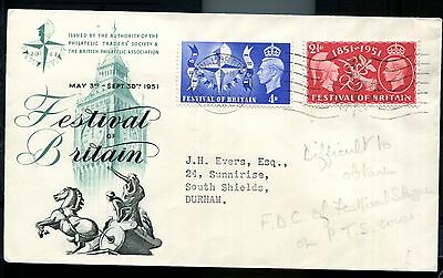 3 scarce GB covers, FDC's etc. KGVI 1951 Festival of Britain. QEII 1957 Scout