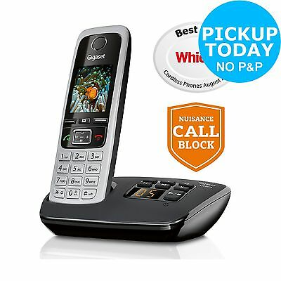 Gigaset C430A Cordless Telephone with Answer Machine-Single. From Argos on ebay