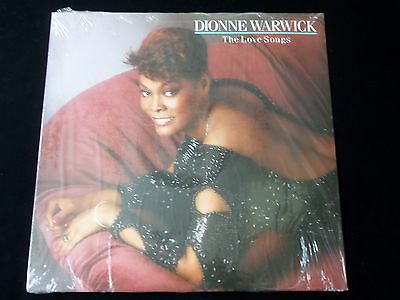 Dionne Warwick The Love Songs Lp-Brand New Sealed - 1989 - 210441