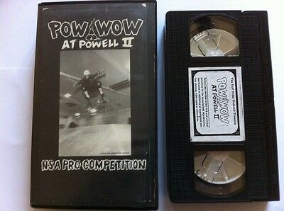 POW WOW AT POWELL 2 Skateboard Video 1992 NSA Pro Competition - Jason Lee