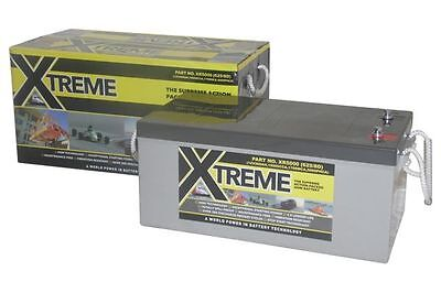 12V 200 AH Xtreme AGM Deep Cycle Boat Battery- 4 Year Warranty