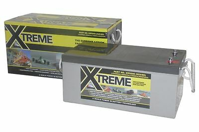 12V 200 AH Xtreme AGM Deep Cycle Narrowboat live aboard Battery- 4 Year Warranty