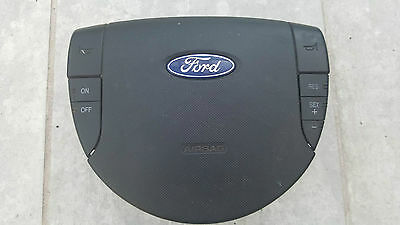 FORD MONDEO MK3 00-07 Drivers Steering Wheel Airbag + Cruise Control 1S71F042B85