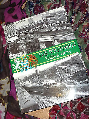 The Southern: Then and Now, Large Hardback Book, Steam Railway Train History