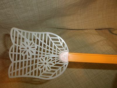 NEW Stanley Vintage Fly Swatter Orange Flower Tulip Wall Hanging Bug Catcher