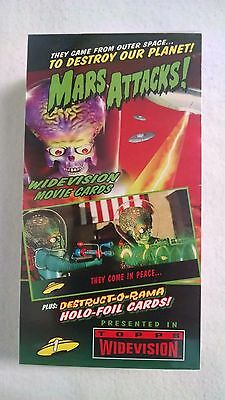 Trading Cards Mars Attacks WideVision 1996 Topps Factory Sealed New