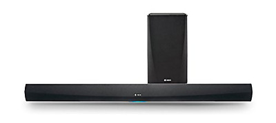 Denon HEOS Home Cinema Wireless Soundbar and Subwoofer - Black