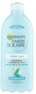 Garnier Ambre Solaire After Sun Lotion Soothing Hydrating Lotion Aloe Vera 400ml