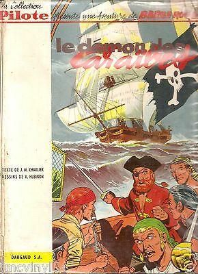 """Collection Pilote Barbe Rouge Eo """"demon Des Caraibes 1961"""