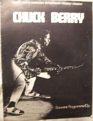 Chuck Berry - UK Tour Programme - 1973 - Baby Whale - Roy Young