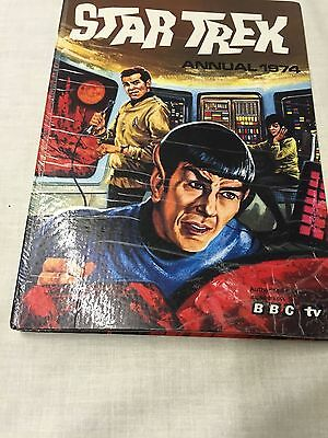 Star Trek Annual 1974 Hardcover – 1974