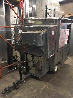MORE PICS and DETAILS!  Hotdog/Concession Cart - Sold As Is - HANDY MAN SPECIAL!