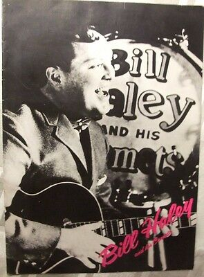 Bill Haley And His Comets - UK Tour Programme - 1976 - The Flying Saucers