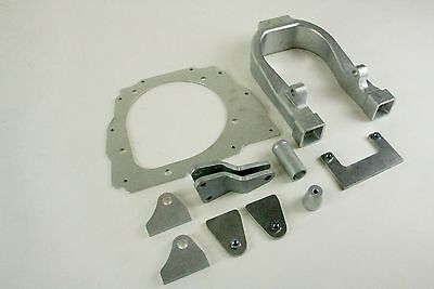 Complete aluminum frame conversion kit for 06-09 CRF250R to CR500 engine