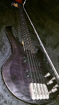 Ibanez BTB 405Qm 5 string bass we. Hardshell Custom Case.