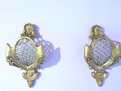 Antique Pair Of French Louis Xvi Style Wall Sconces