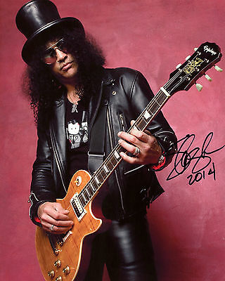 Slash - Guns n' Roses - Signed Autograph REPRINT