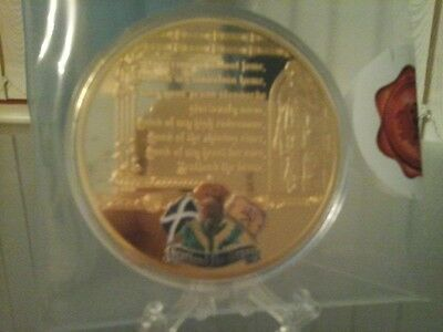Windsor mint, Scgottish anthem commemorative coin
