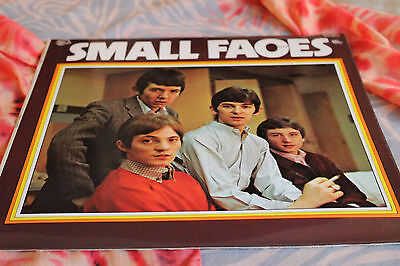 """THE SMALL FACES very rare mispress LP inc """"Little Pictures"""" by Adam, Mike & Tim"""