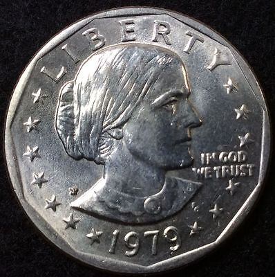 1979 P Susan B Anthony One Dollar United States LIBERTY ( 1 COIN ) RARE