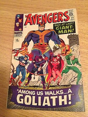The Avengers #28  1st Collector Appearance