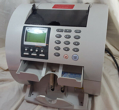 Shinwoo SB-1000 SB1000 VIDEO!! Currency Money Bill Counter Discriminator ISSUES