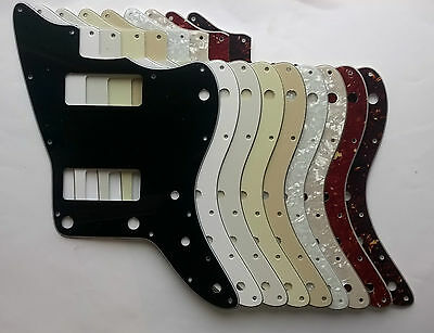 Jazzmaster Pickguard 2 P90 Soapbar Route to fit US Mex - various colours 3 4 ply