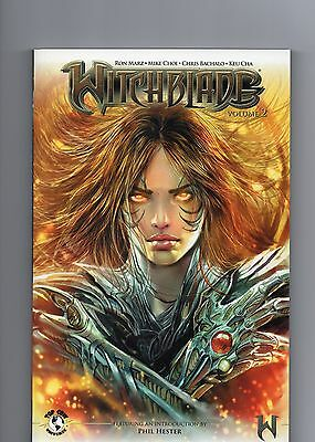 Witchblade Volume 1 & 2 - Great Condition - TOP COW - Ron Marz - Phil Hester