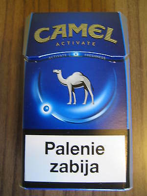 Camel One NEW Camel DESIGN Pack Activate  from Poland . 2016 LEER / empty !!!