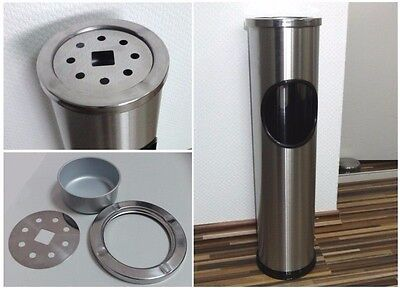 Floor Standing Ashtray Bin Smoking Smokers Free Ash Outdoor Container Bar Hotel