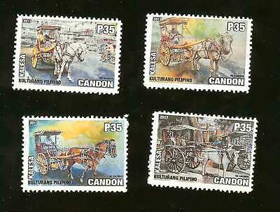 New 2017!-Philippines Locals-Candon City- Kalesa (Traditional Horse Carriage)