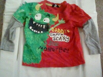 Daddys super scary little monster size 18-24 months