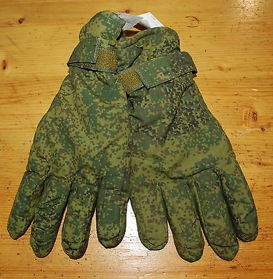 Russian Army Winter Gloves.Digital Flora.2013.Size 28.