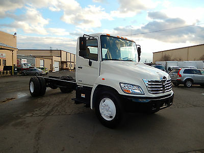 2008 HINO 268 Cab and Chassis, NON CDL, ONLY 129,000 MILES,Allison AUTOMATI, A/C