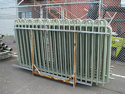 Thick Metal Fencing Panels and Posts