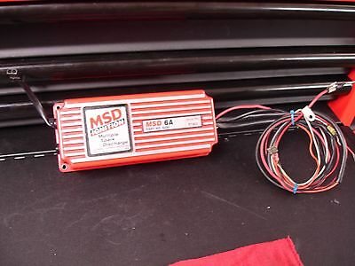 Msd #6200 6A Ignition...tested----Guaranteed To Work!!