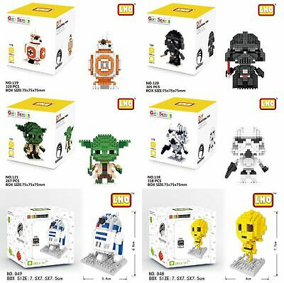 Star Wars LNO iBLOCK Micro Mini Building Lego Nano Block Nanoblock Kids Gift Au