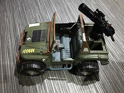Action Man - Army Jeep 4x4 (Hasbro 1997) -  (See Description for Missing Items)