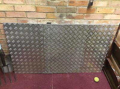 """Large Doorway Threshold Ramp for Mobility Scooter (L = 4ft 5"""" X W = 2ft 7in)"""
