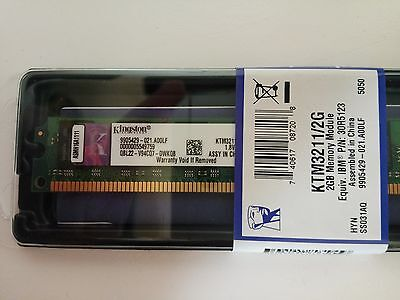 Memoria RAM Kingston KTM3211/2G PC4200  2 Gb 533 MHz DDR2 - Nuova Sigillata!