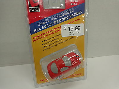 Life like #9742 CAMARO Red Race Car HO Scale NEW IN SEALED PACKAGE