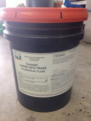 KUBOTA SUPER UDT2 Hydraulic Transmission Fluid - 5 Gallon LOCAL PICK UP  ONLY!!