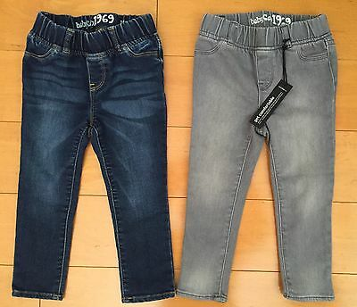 2x Baby Gap Jeans Size 2 Boys Or Girls Unisex, One Is Brand New