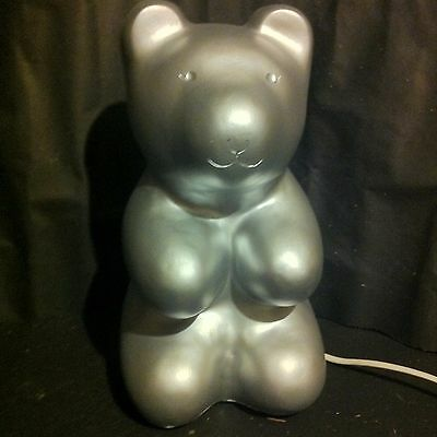 Heico Night light - Jelly Bear - Silver