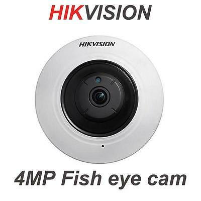 Hikvision DS-2CD2942F-IWS Inglese Versione 4MP WI-FI Fisheye PTZ Videocamera