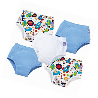 Bambino Mio, Potty Training Pants, Mixed Boy, Outer Space, 18-24 Months (5 Pack)